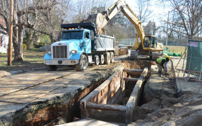 Wilmore Wastewater Pipe Replacement